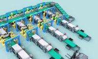 物流三维动画制作:仓储商贸区