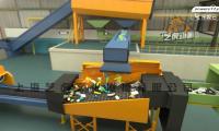 三维施工动画制作垃圾分类回收